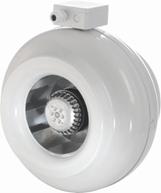 Канальные вентиляторы круглого сечения КВ-К-200